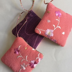 桜の香りの匂い袋