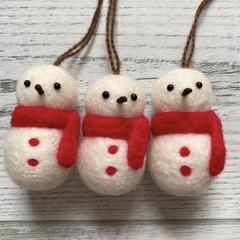 なごみつクリスマスマーケットに雪だるま現る